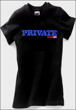 Private Men's T-Shirt
