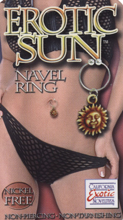 Erotic Navel Rings: Sun
