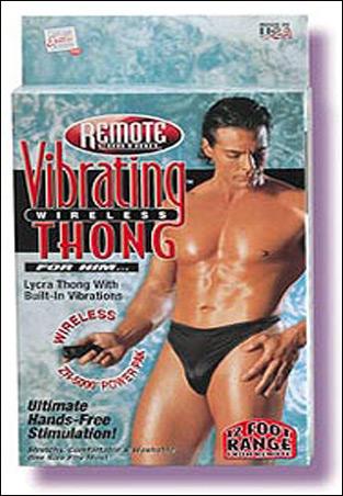 Remote Control Vibrating Men Thong